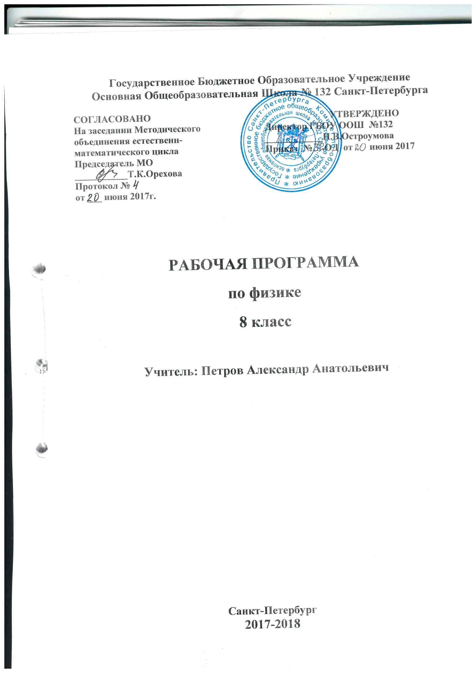 История спб 8 класс л.к ермалаева